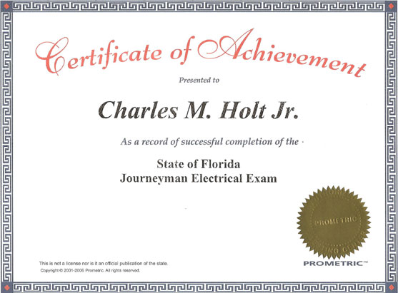journeyman. Journeyman Electrician